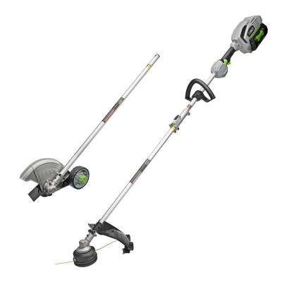 15 in. String Trimmer and Edger Combo Kit with 5.0Ah Battery and Charger for EGO Power Head System