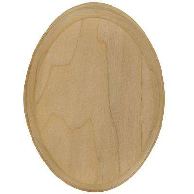 7337 Unfinished Wood Oval Rosette Stair ...