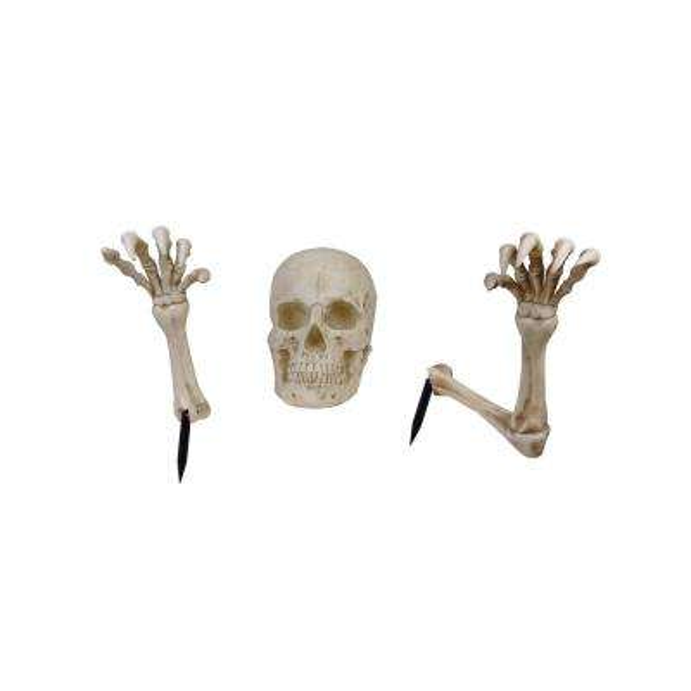 16 in. Skeleton Ground Breaker with LED Illumination