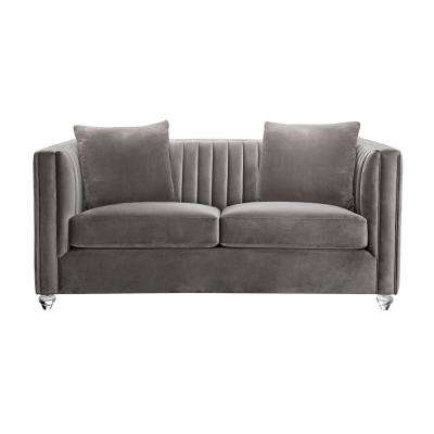 Incroyable Cameron Beige Loveseat