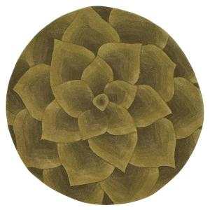 Home Decorators Collection Corolla Green 7 ft. 9 inch x 7 ft. 9 inch Round Area Rug by Home Decorators Collection