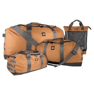 Dickies 3-Piece 36 inch Tan Duffel Work and Tool Bag Combo Set by Dickies