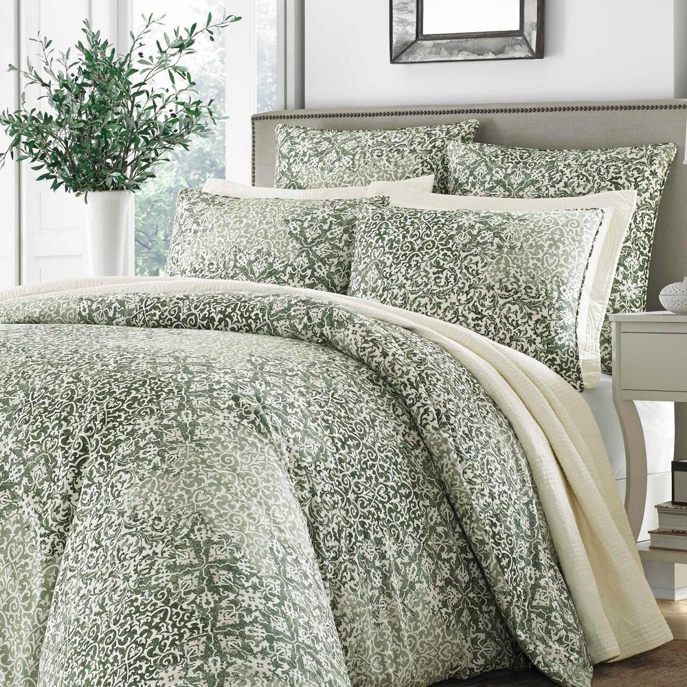 Abingdon Floral Cotton Comforter Set