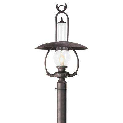 La Grange Outdoor Old Bronze Post Light