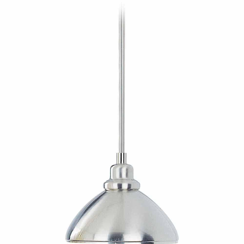 Filament Design Lenor 1-Light Brushed Nickel Incandescent Ceiling Pendant