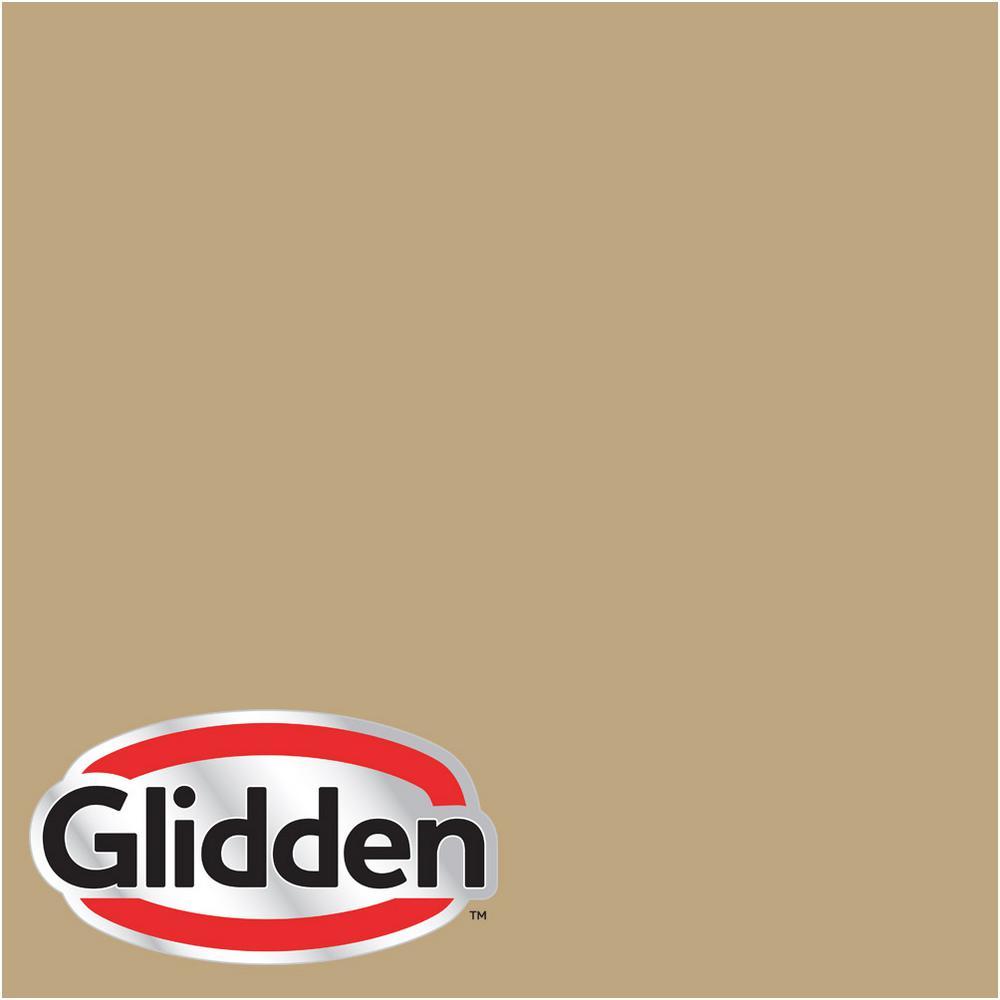 8 oz. #HDGY25 Summerwood Gold Satin Interior Paint Sample