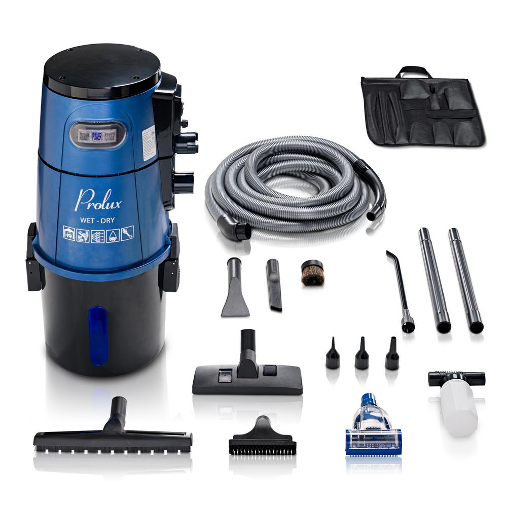 Prolux 5 88 Gal Professional Wall Mounted Garage Wet Dry Vac Pick Up