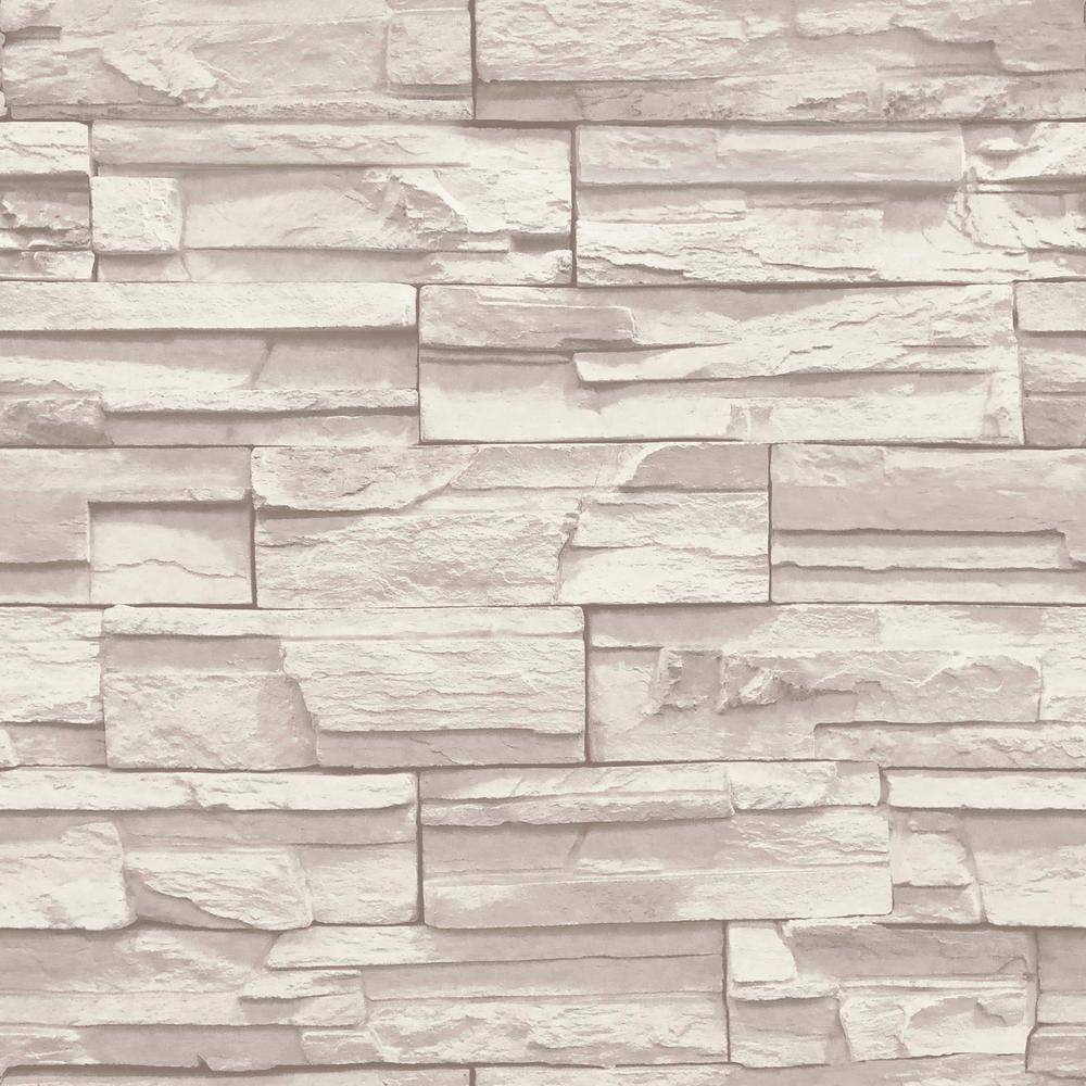 york wallcoverings natural elements flat stone wallpaper ss1021 the home depot. Black Bedroom Furniture Sets. Home Design Ideas