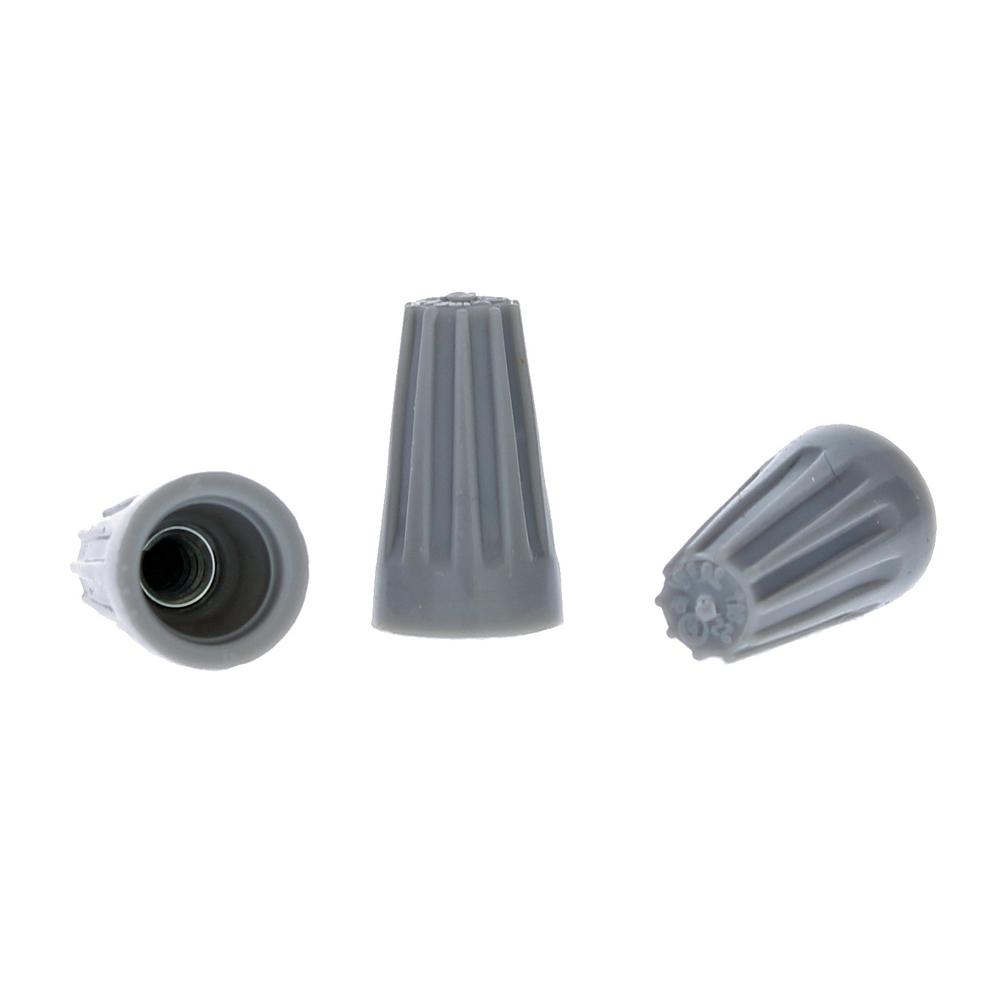 1000 PACK Grey Electrical Wire Connectors UL