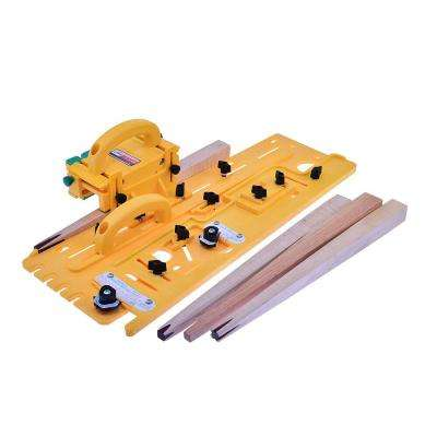 MICRODIAL Tapering Jig for Table Saw, Router Table, Band Saw, Works with GRR-RIPPER 3D Pushblock