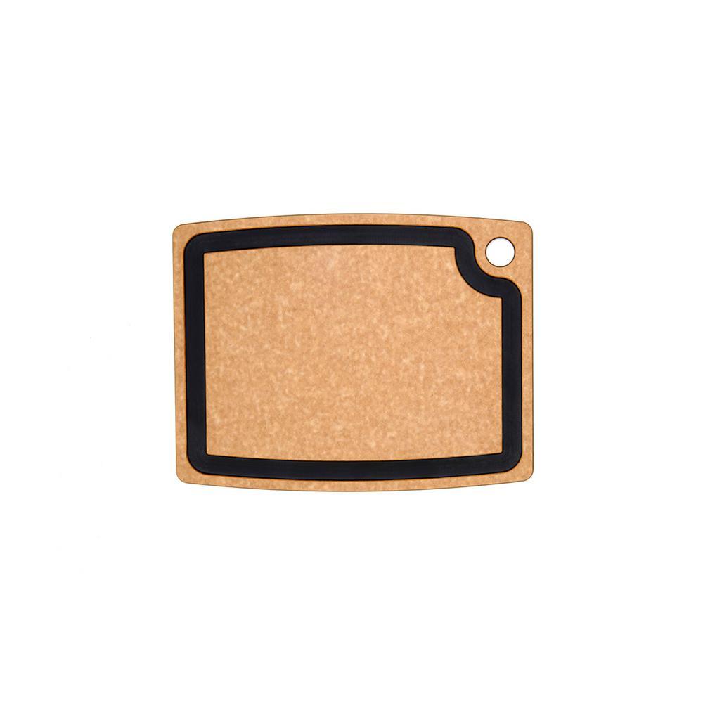 Gourmet Series 15 in. x 11 in. Rectangular Wood Fiber Composite Cutting Surface