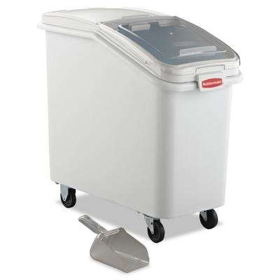 26.2 Gal. White ProSave Mobile Ingredient Bin