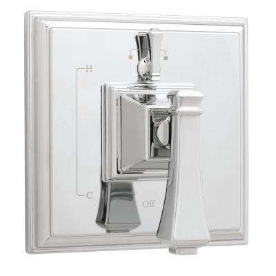 Rainier 1-Handle Pressure Balance Valve Trim Kit with Diverter in Polished Chrome