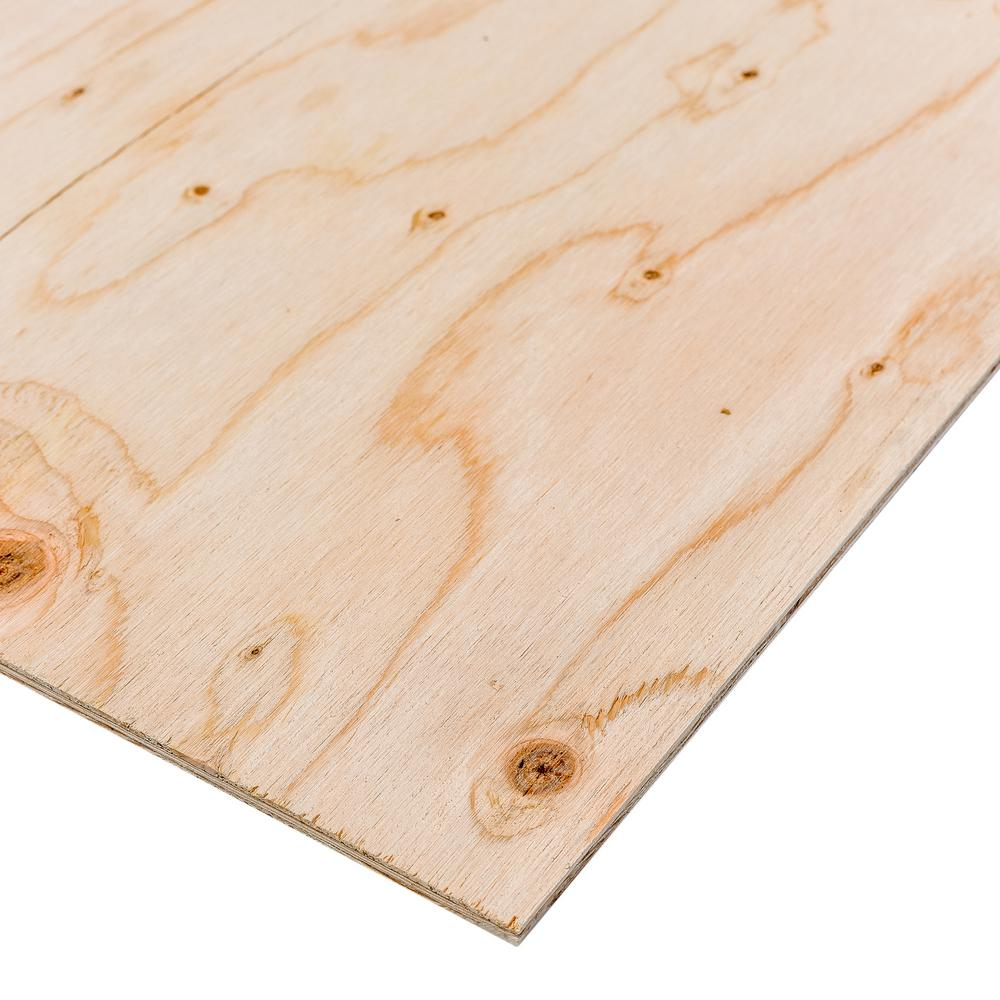 BC Sanded Plywood (Common: 7/32 in. x 2 ft. x 4