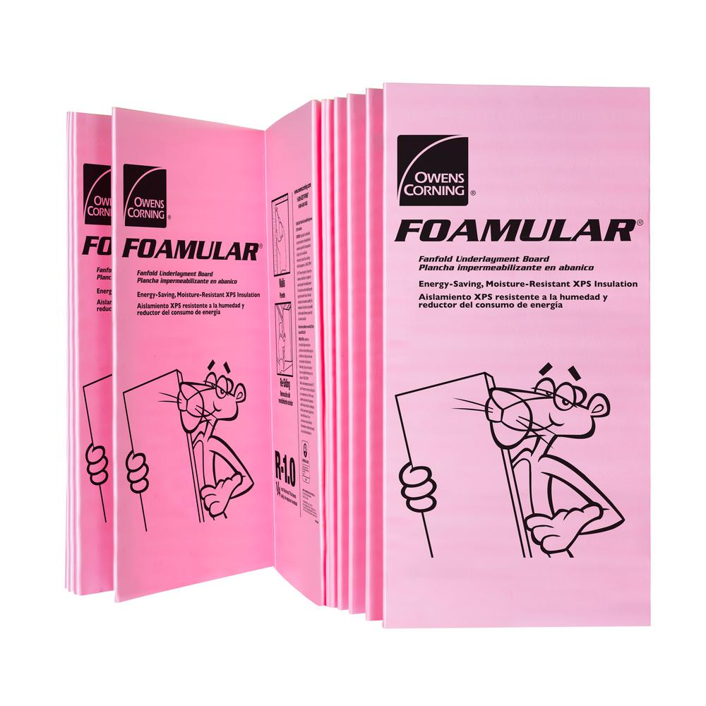 Owens Corning Foamular 150 2 In X 4 Ft X 8 Ft R 10