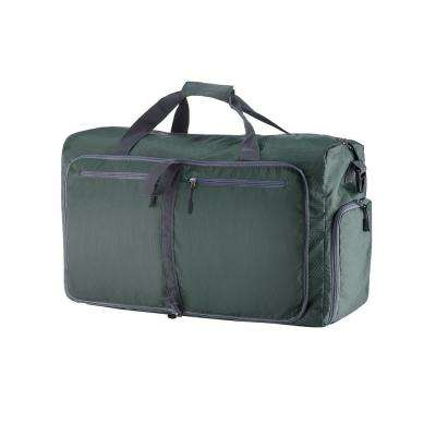 28 in. Green Folding Duffel Bag