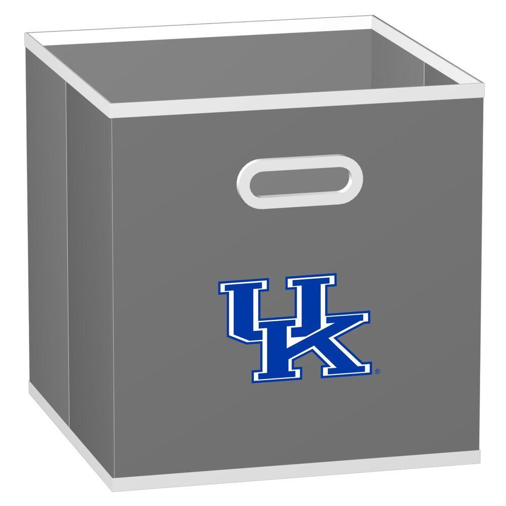 MyOwnersBox College Storeits University of Kentucky 10-1/2 in. x 11 in. Grey Fabric Storage Drawer