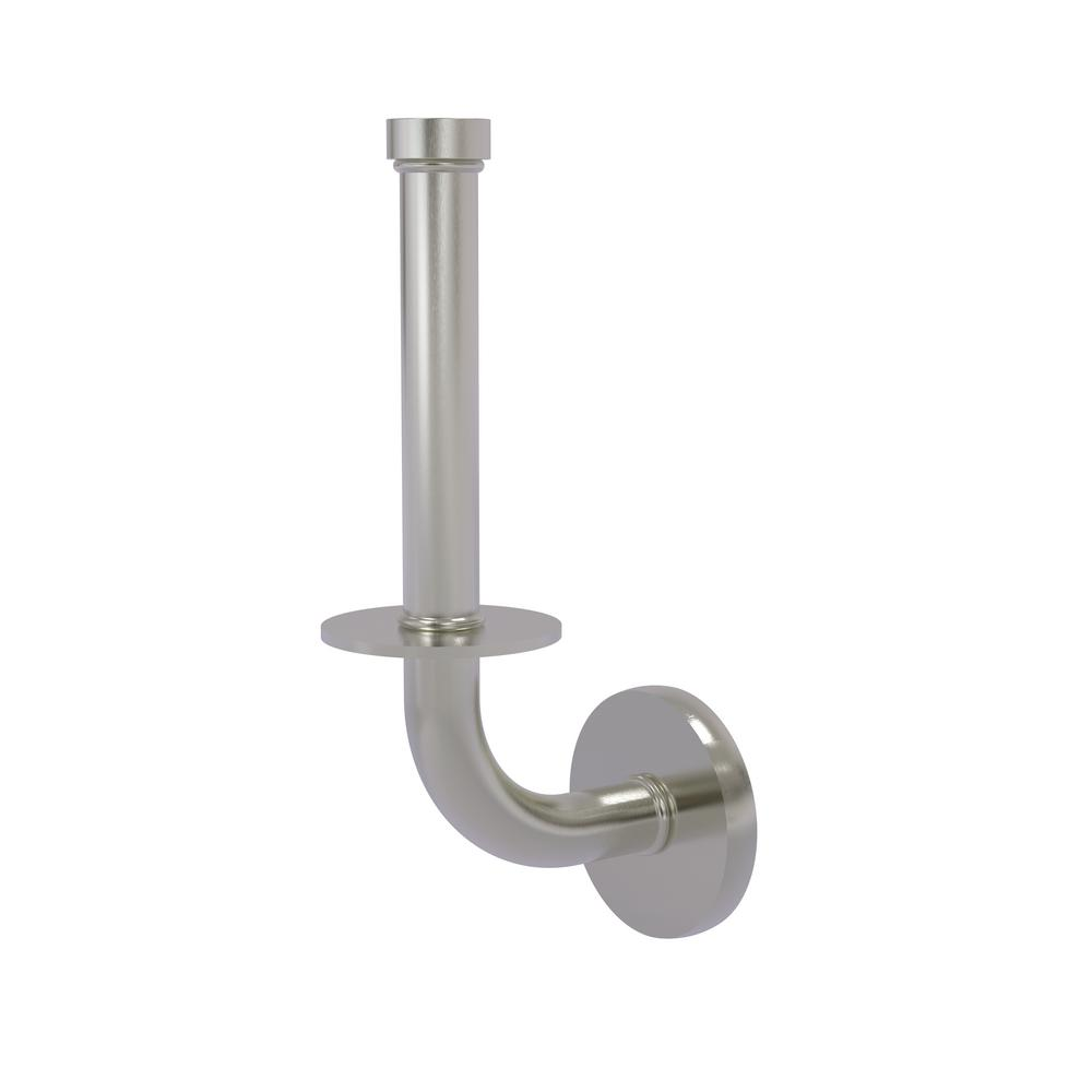 Allied Br Remi Collection Upright Toilet Tissue Holder In Satin Nickel