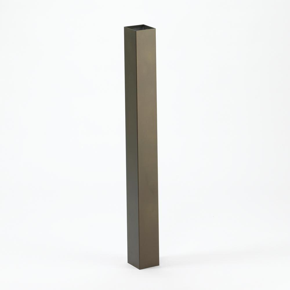 Standard Post in French Bronze
