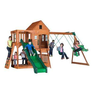 Pacific View All Cedar Playset