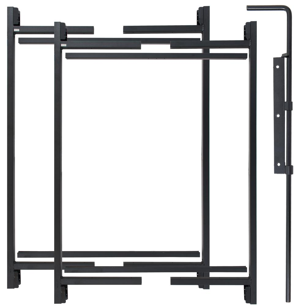 Adjust-A-Gate 47 in. H/ 60in.- 96 in. W Original Series 2-Rail Adjustable Double Drive Kit