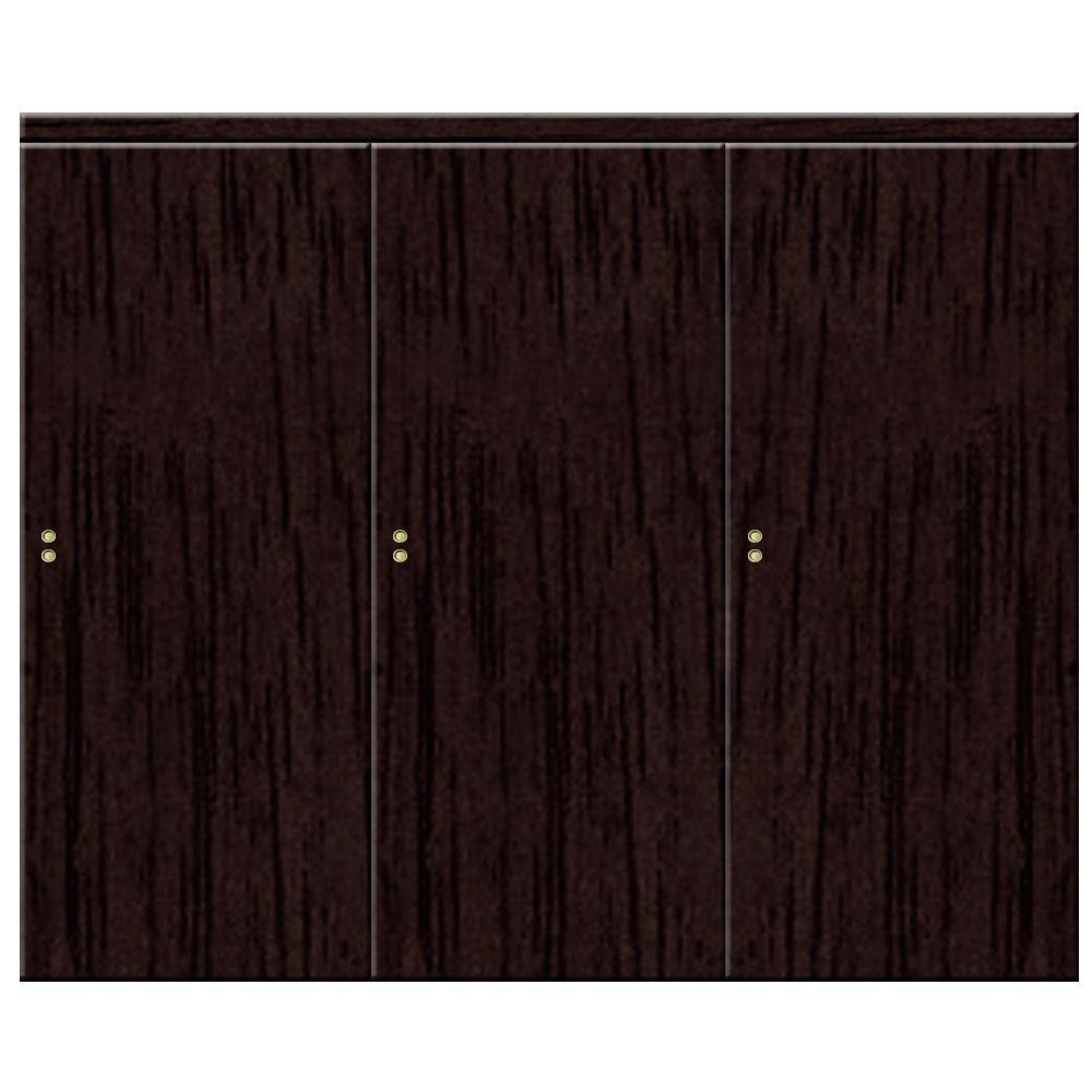 Impact plus 108 in x 96 in smooth flush espresso solid for Solid core flush interior doors