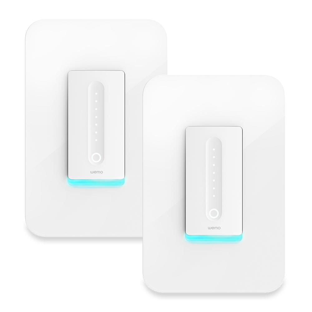 Wemo 400 Watt Single Pole Cfl Led Incandescent Dimmer Light Switch Lighting Wiring With Neutral Zwave Home