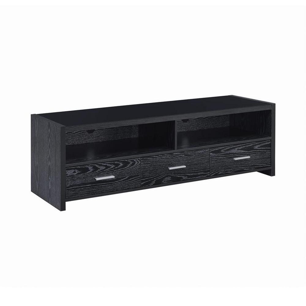 Coaster Home Furnishings 61 in. Black Wood TV Stand Fits TVs Up to 68 in. with No Additional Features Coaster Home Furnishings 61 in. Black Wood TV Stand Fits TVs Up to 68 in. with No Additional Features.