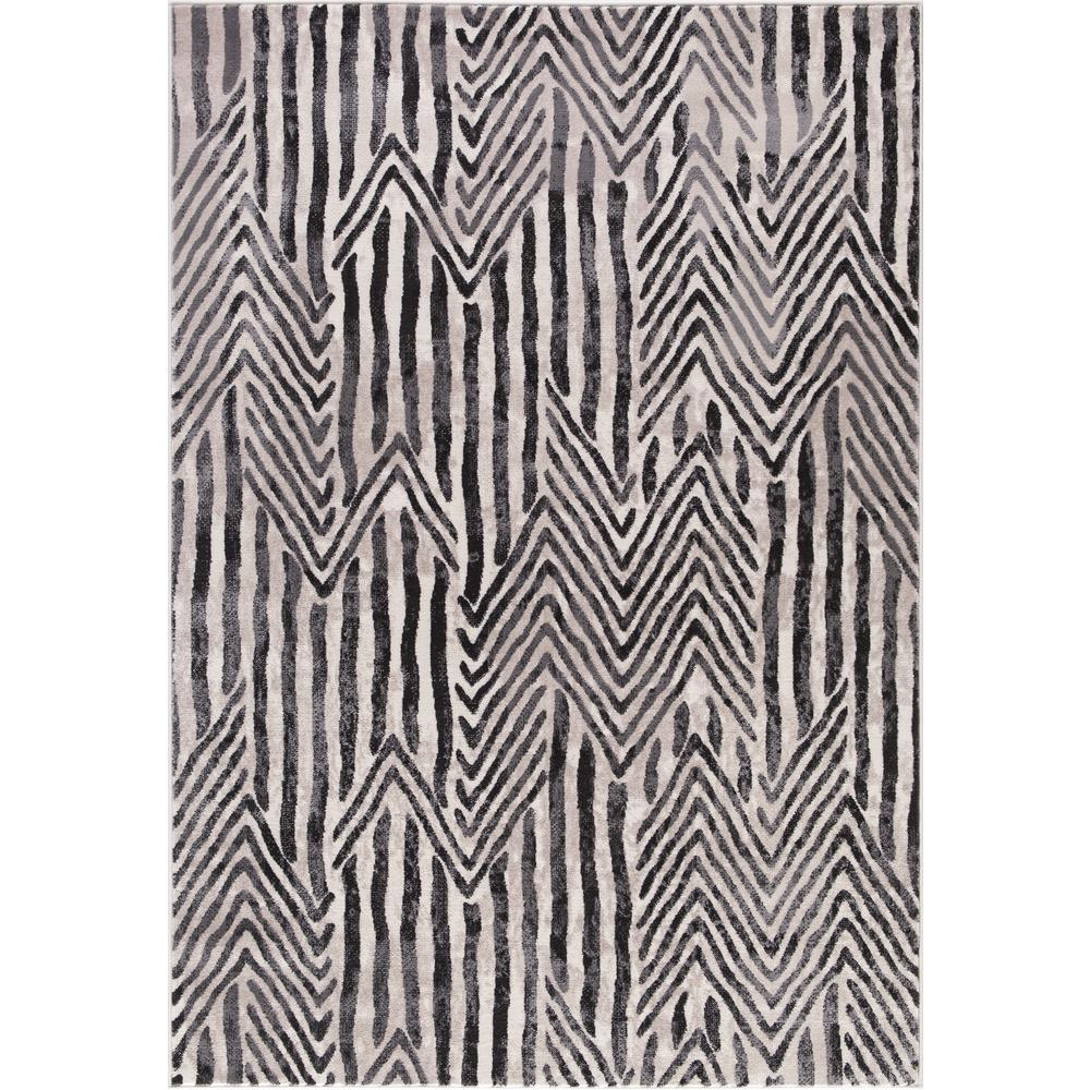 Lara Dancing Stripes Ivory 5 ft. 3 in. x 7 ft.