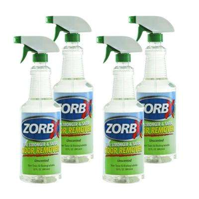 32 oz. Unscented Odor Remover (4-Pack)