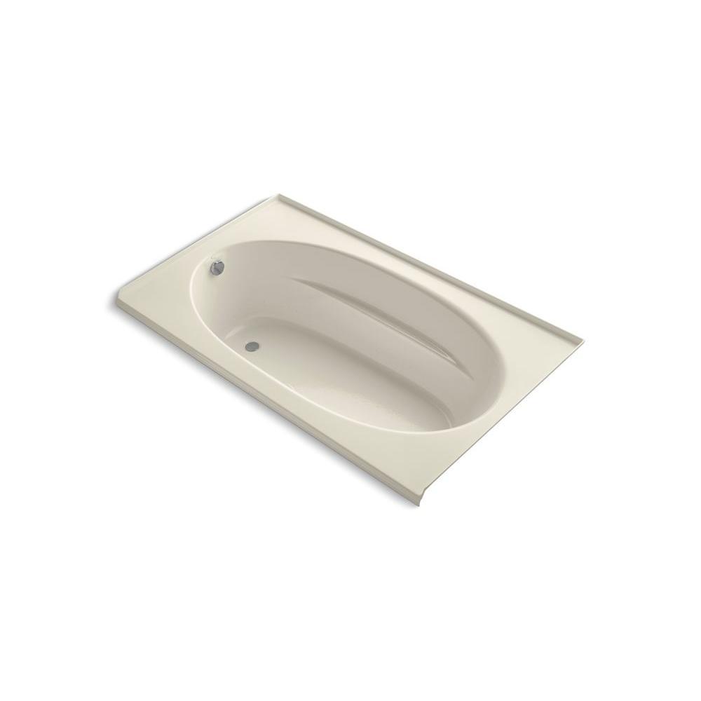 KOHLER Windward 6 Ft. Acrylic Oval Drop-in Whirlpool