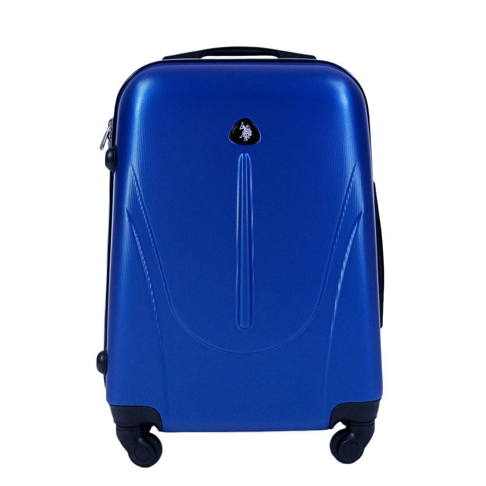 a478e992922f U.S. Polo Assn. U.S Polo Assn. 21 in. Royal Carry-On Luggage Spinner ...