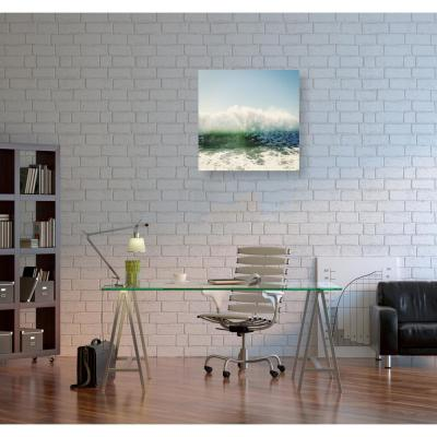 12 in. x 12 in. 'Foam' by Oliver Gal Printed Framed Canvas Wall Art