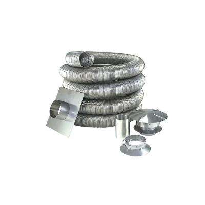 7 in. x 35 ft. Stainless Steel Oil Liner Kit