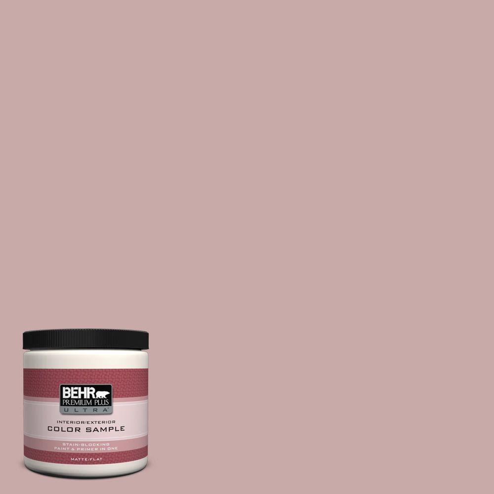 8 oz. #130E-3 Rosy Tan Interior/Exterior Paint Sample