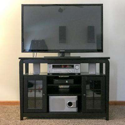 Black Special Values Tv Stands Living Room Furniture The