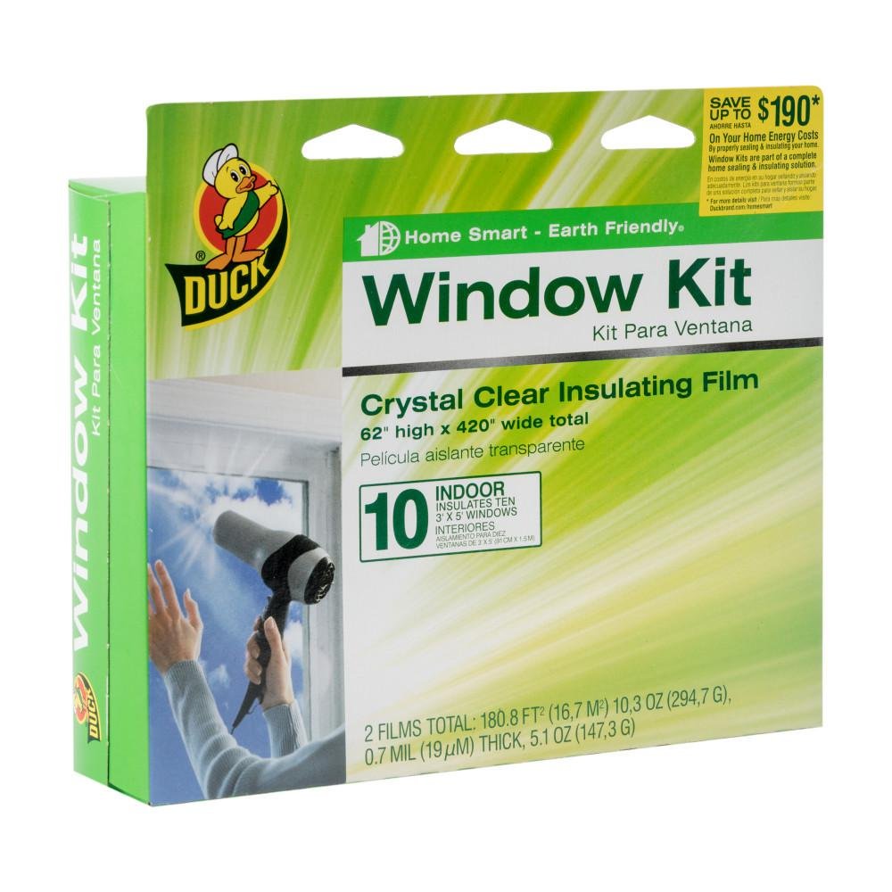62 in. x 420 in. Crystal Clear Window Kit Shrink Film