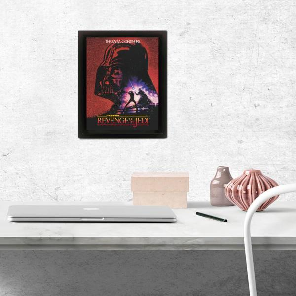 "Pyramid America ""Star Wars - Revenge Of The Jedi"" Wall Art"