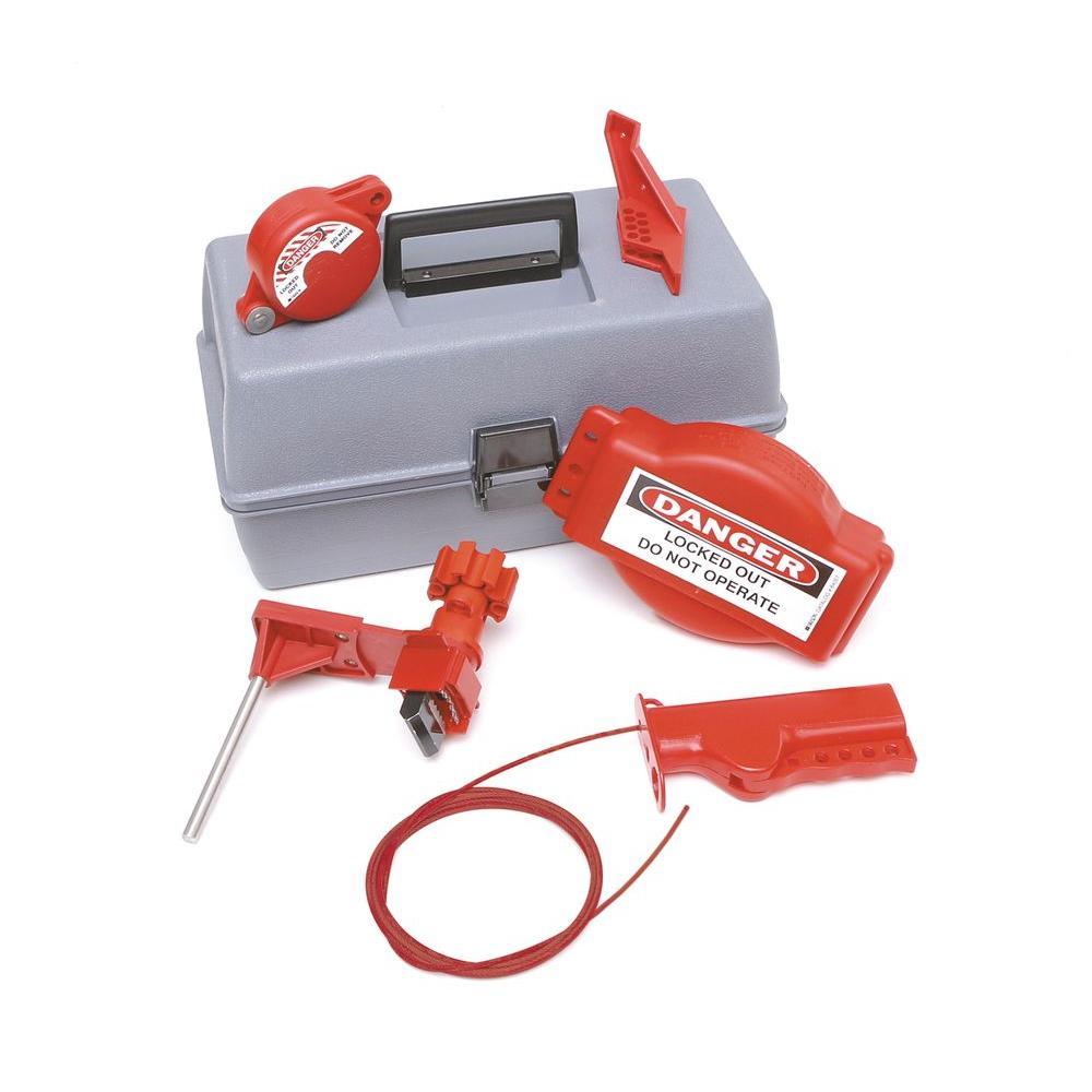 Brady Valve Lockout Toolbox Kit