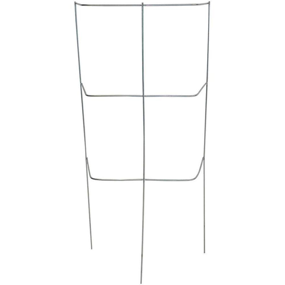 Glamos Wire Products 46 in. Sectional Garden Cage Plant Support Galvanized (10-Pack)