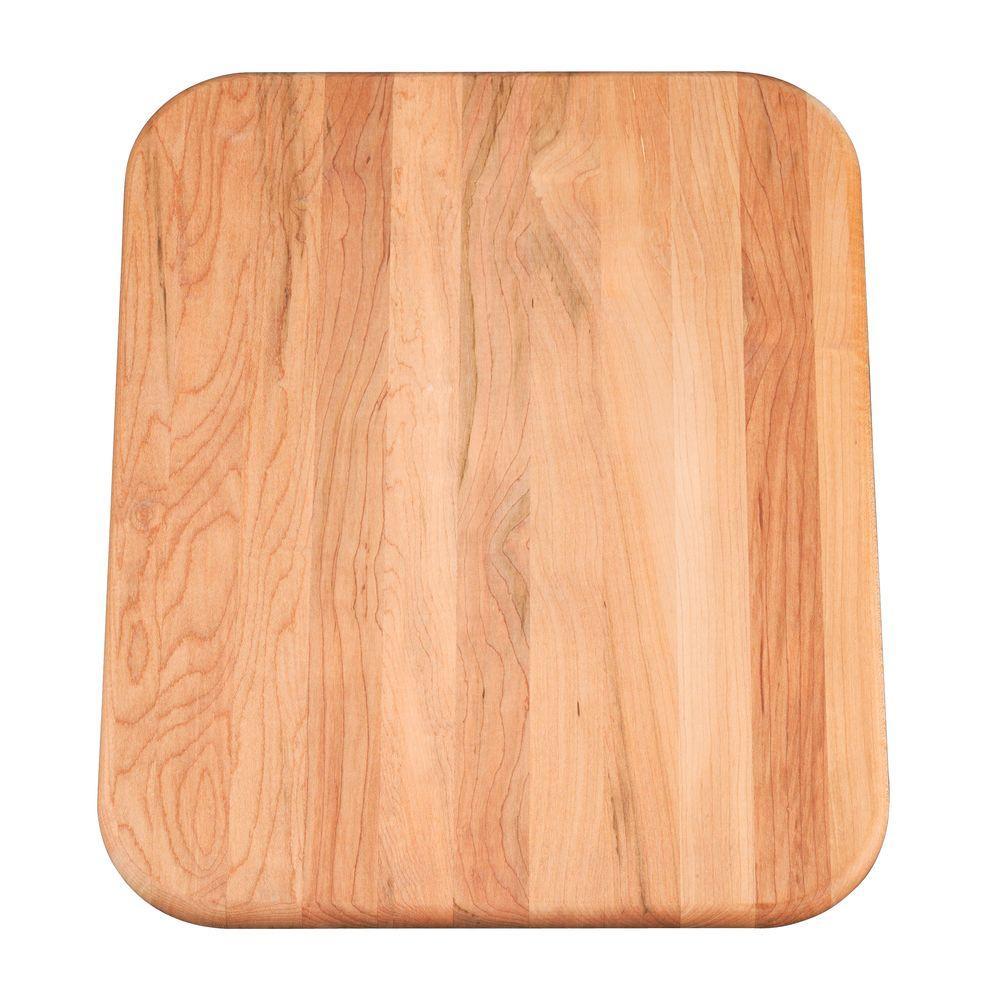 KOHLER Cape Dory Hardwood Corrosion Resistant Cutting Board