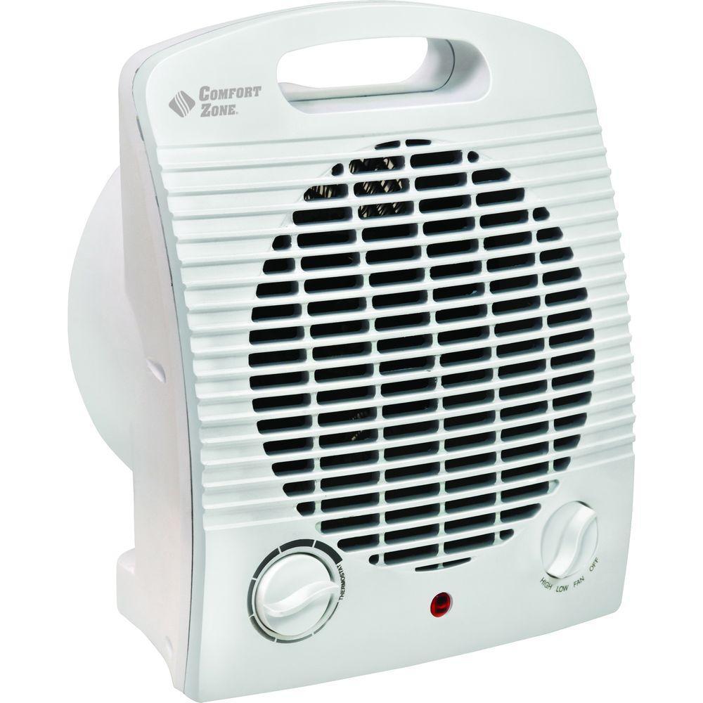 Comfort Zone 1,500-Watt Fan Electric Portable Heater-DISCONTINUED