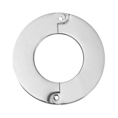 2 in. Iron Pipe Size Split Flange Escutcheon Plate in Chrome-Plated Steel