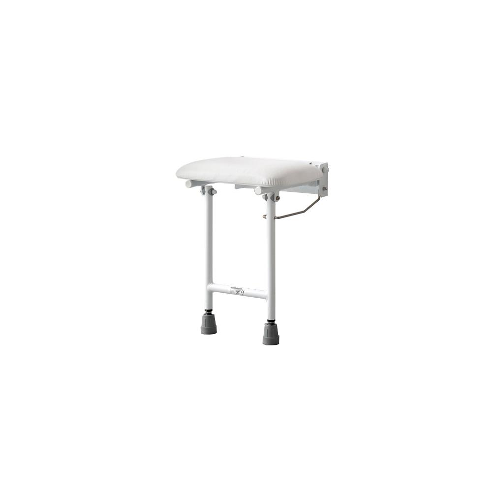 Liberty 14-1/8 in. W x 13-3/8 in. D Compact Padded Shower Seat in ...