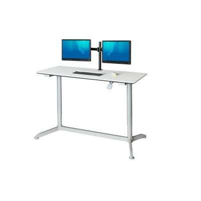 Classics AIRLIFT White Sit-Stand Height-Adjustable Desk