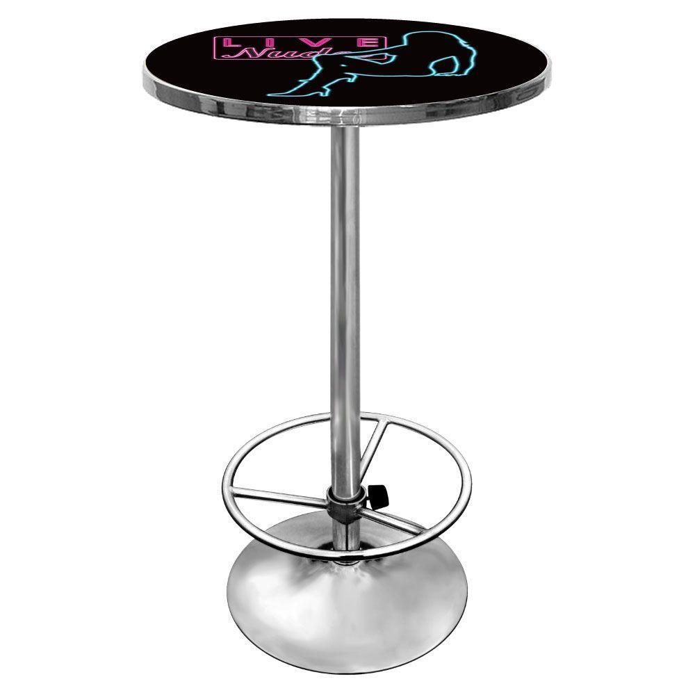 Shadow Babes D Series Black Pub/Bar Table