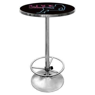 Shadow Babes D Series Black Pub/Bar Table