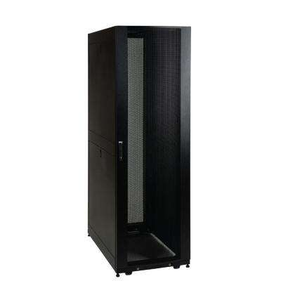 42U Rack Enclosure Server Cabinet Doors and Sides 3000 lb. Capacity