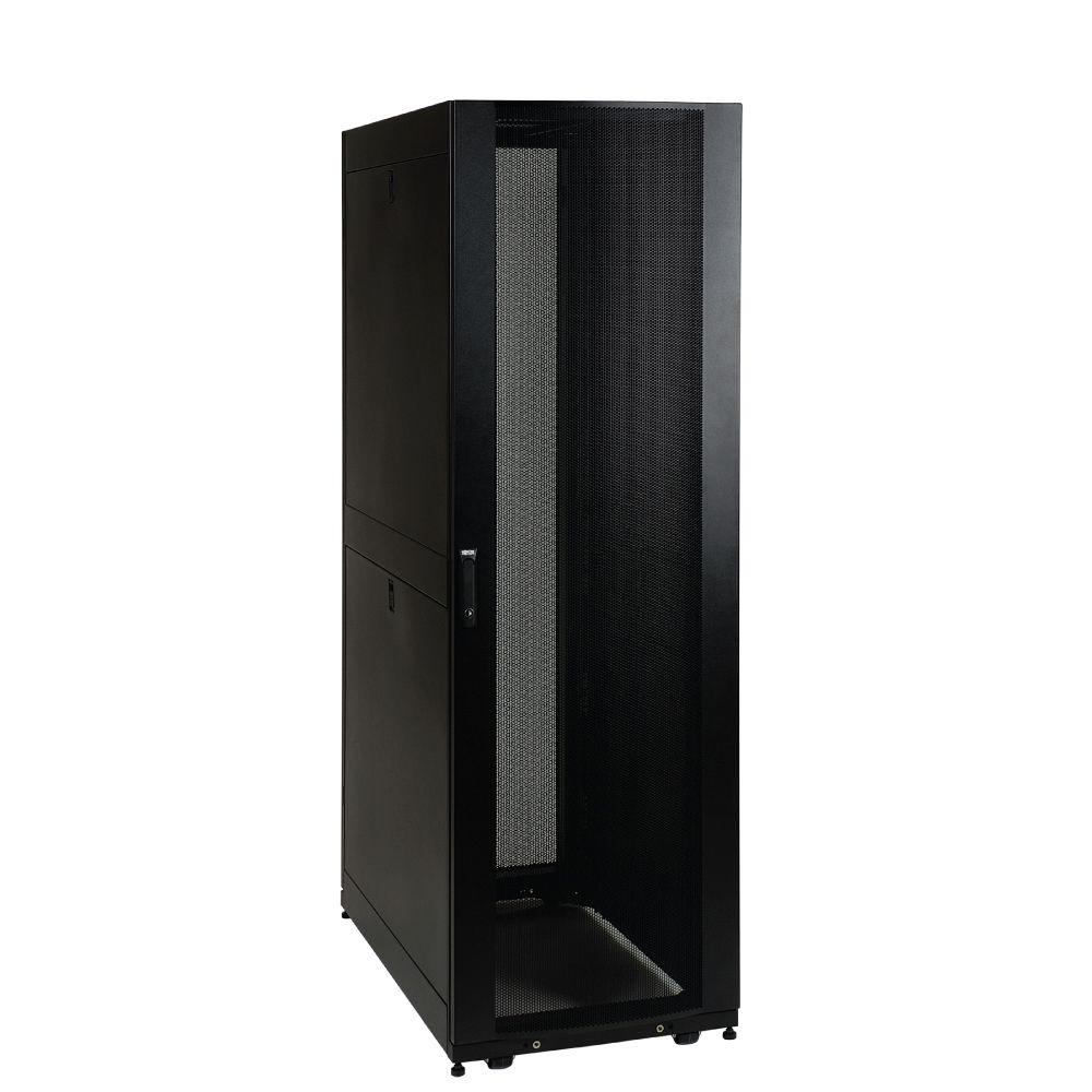 Tripp Lite 42U Rack Enclosure Server Cabinet Doors and Sides 3000 lb. Capacity