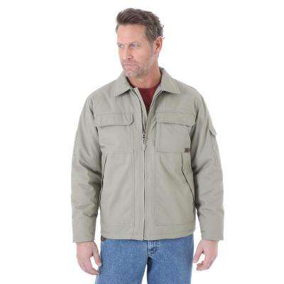 Men's Size Large Dark Khaki Ranger Jacket